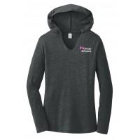 District Made® Ladies Perfect Tri® Long Sleeve Hoodie