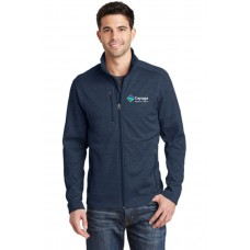 Port Authority® Digi Stripe Fleece Jacket CRM