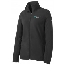 Port Authority® Ladies Summit Fleece Full-Zip Jacket in Black