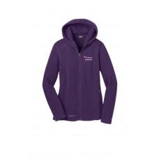 Eddie Bauer® Ladies Hooded Full-Zip Fleece Jacket