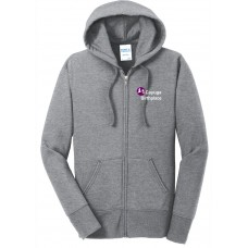 Port & Company® Ladies Core Fleece Full-Zip Hooded Sweatshirt